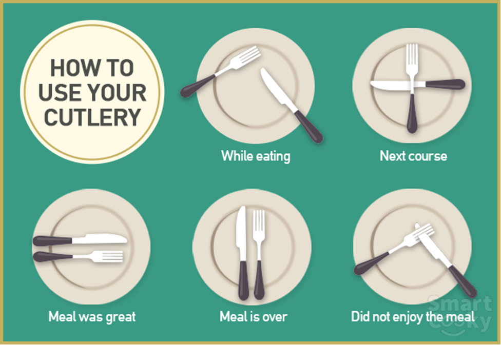 how to use your cutlery